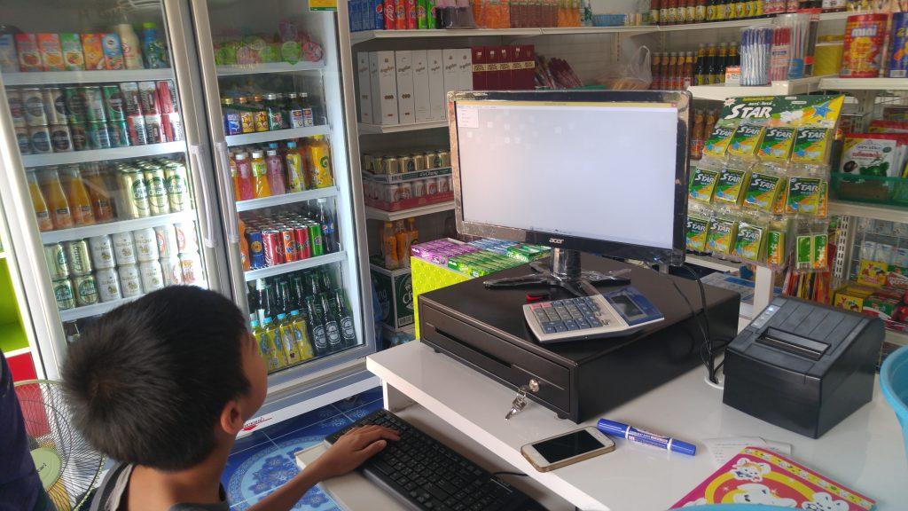 เด็กป.6 ลูกประธานชุมชน ใช้งานโปรแกรมร้านมินิมาร์ทได้ !!!